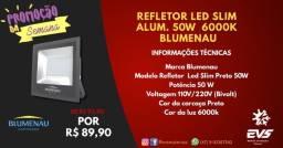Refletor LED Slim 50w
