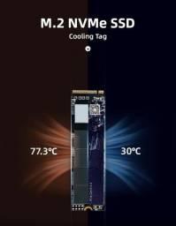 Título do anúncio: SSD M.2  Nvme - Kingspec 128GB - 3 Meses de Garantia