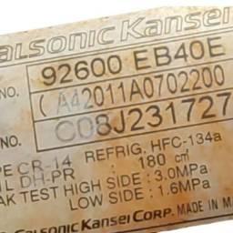 Título do anúncio: Compressor Ar Condicionado Nissan Frontier 2.5 2009 Usado