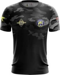 Camiseta Camisa Força Tática-ftt (uso Liberado)