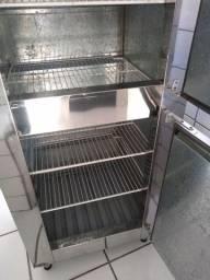 Refrigerador 430 litro inox R$ 2.200.00