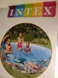 Título do anúncio: Piscina INTEX Vinil 2400 litros
