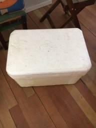 3 caixas de isopor 80l, 50l, 30l