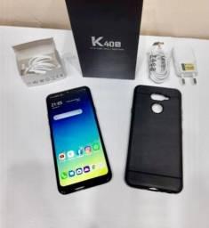 <br>LG K40S 64GB CÂMERA TRIPLA 13MP Tela 6.1 Polegadas