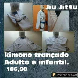 kimonos Padrão Profissional Trançado Jiu Jitsu Diversos tamanhos Vendas atacado