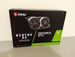 Placa de Vídeo MSI NVIDIA GeForce GTX 1650 D6 Ventus XS 4G OC, 4GB, GDDR6