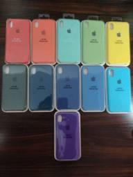 Case aveludada para Iphone