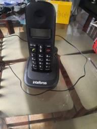Telefone sem fio,intelbras.