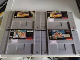 Jogos super Nintendo originais