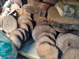 Madeiras e bolachas, troncos