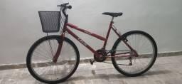 Bicicleta com marcha excelente estado