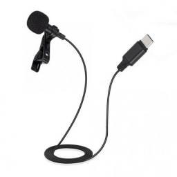 Microfone Lapela Youtuber Lightning 2M Lavalie