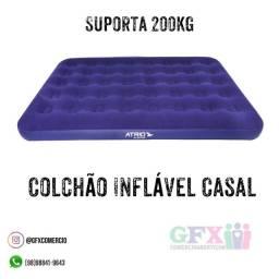 Últimas unidades - colhcso inflável casal por 150$