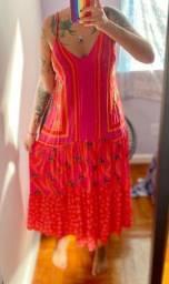 Vestido cropped FARM G