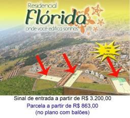 Lotes Residencial Flórida (ao lado do IFG)