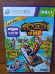 cabela's adventure camp xbox 360 kinect original