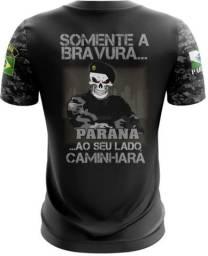 Camiseta Camisa Polícia Paraná - Brp (uso Liberado)