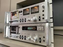 2 Tape Deck Polyvox /modelos:CP 750D e CP 150M - Não Gradiente