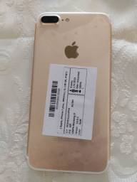 iPhone 7 plus 128g Dourado