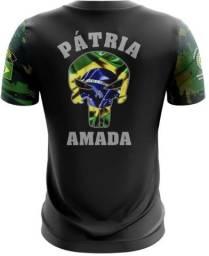 Camiseta Camisa Patria Amada-exm (uso Liberado)