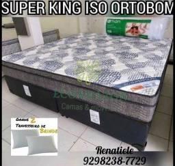 Cama Super King Iso SUPERPOCKET // LIQUIDAÇÃO TOTAL