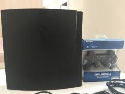 PS3 Sony Playstation 3 Slim 160gb (usado) + 04 Jogos Originais (usado)