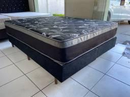 cama box queen size  - aloe vera  - ENTREGO