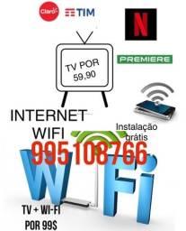 Título do anúncio: Internet tv