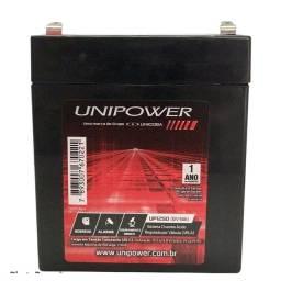Título do anúncio: Bateria estacionária Unipower 5ah / 12v