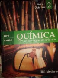 Livro de química volume 2 bem conservado