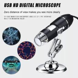 Microscópio eletrônico 1600x USB