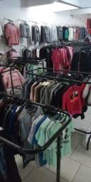 Vendo estoque loja de roupas e calçados araras, Rt, Manequins, calçados roupas etc.