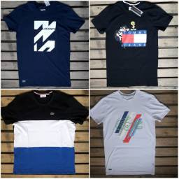 4 Camisas elastano M por 170$ com garantia FRETE GRATIS