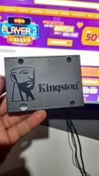 SSD Kingston 240 Gigas novinho ! informações na descrição