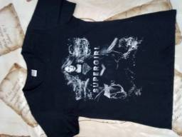 camiseta super girl blusa super girls  camisetas super herois feminina