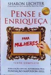 Livro Pense e Enriqueça para Mulheres - Novo e Lacrado