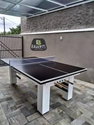 Mesa de bilhar com tampo para ping pong!!
