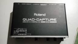 Interface De Áudio Roland Quad-Capture UA-55 USB 2.0