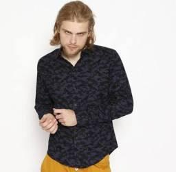 Camisa Straight Camuflada Sommer