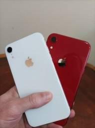 Título do anúncio: iPhone XR 64GB White Lindo de Vitrine Bateria 100%