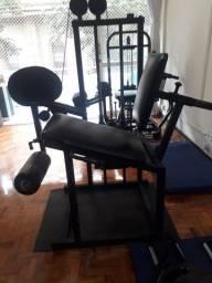 Máquinas de musculação!