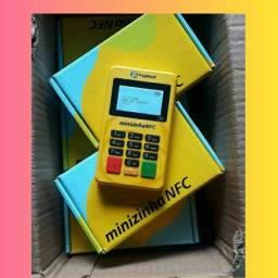 Título do anúncio: Maquineta minizinha NFC promoção