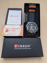 Título do anúncio: Relógio Curren 8329 Excelente Qualidade Pulseira em Couro