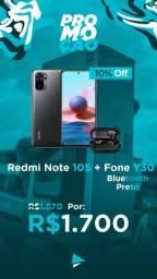 Redmi Note 10 S NFC - Promoção - Só hoje!