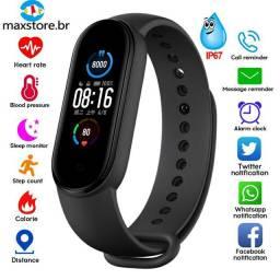 M5 Smart Watch Bluetooth 4.2 À Prova D 'Água / Pulseira Esportiva De Verificação