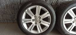 Jogo de rodas 17 originais Audi a4 com pneus novos