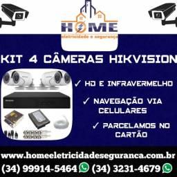 Título do anúncio: Câmeras De Segurança Hikvison  *
