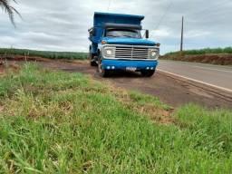 Caminhão caçamba trukado