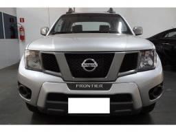 Nissan Frontier sv 2.5 attack prata 4x4 cd turbo diesel 4p manual 2013