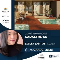 Título do anúncio: Compre seu flat térreo 3 quartos com piscina privativa na beira-mar de Muro Alto| Lançamen